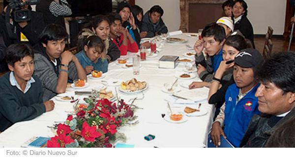 Union der arbeitenden Kinder und Jugendlichen Boliviens
