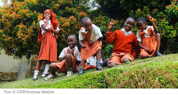 Schulkinder in Uganda
