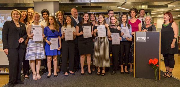 PreisträgerInnen C3-Award 2018